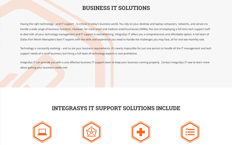 Integrasys IT Support Support Solutions